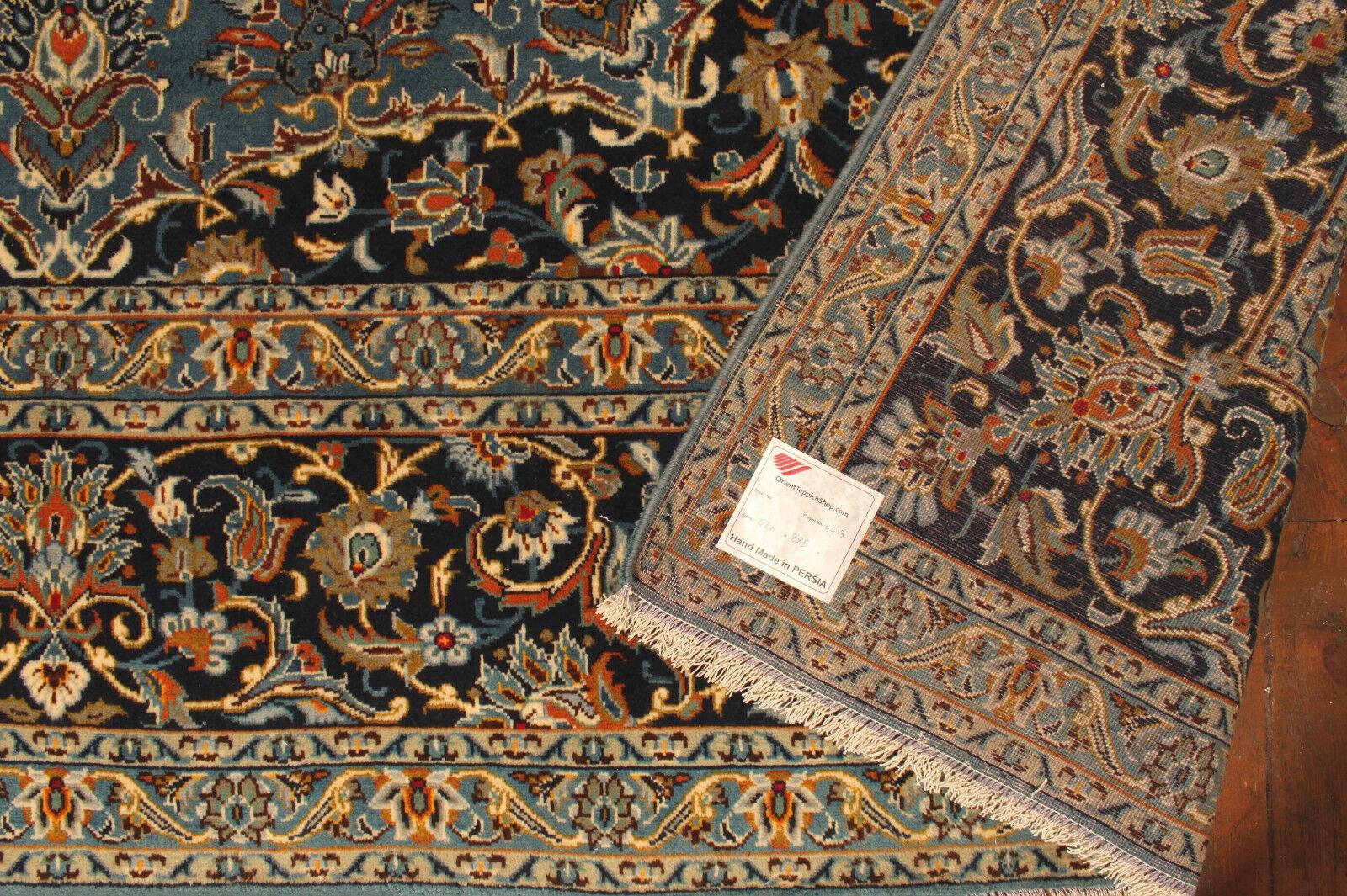 TAPPETO Orientale Vero Annodato Tapis Tapis Tapis persan n. 4413 (430 x 295) cm 2160ff