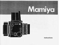Mamiya RZ67 Pro II Instruction Manual