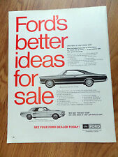 1967 Ford Mustang Sports Sprint & Galaxie 500 Ad
