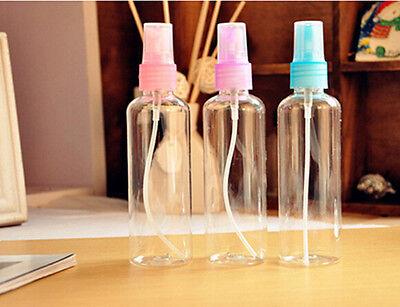 XI CA 2014 New 1 X 100ML EMPTY PLASTIC PERFUME TRANSPARENT ATOMIZER SPRAY BOTTLE