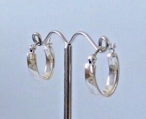 Llanura-de-plata-esterlina-925-Pequenos-Aro-Pendientes