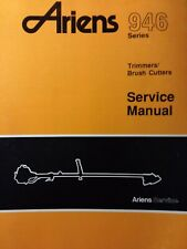 Ariens 946 Lawn Garden Gasoline Line Trimmer Brush Cutter Service Amp Parts Manual