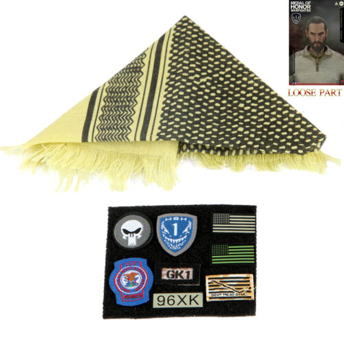 Soldier Story SS106 1//6 Medal of Honor SEAL VooDoo Action Figure Scarf Patch Set