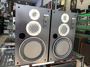 TECHNICS-SB-X500A-Original-Rare-Speakers-3-Way-Vintage-1985-70-W-RMS-Good-Look