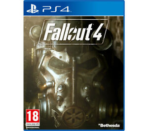 SONY Fallout 4 for PlayStation 4 By Bethesda RPG Single Player 18+