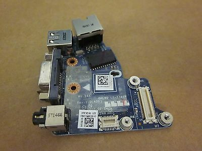 Dell Latitude E6420 USB VGA Ethernet LAN RJ45 /& Audio Daughterboard