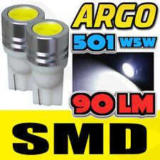 1 SMD LED XENON WHITE 501 T10 W5W SIDELIGHT BULBS RENAULT KOLEOS 4X4