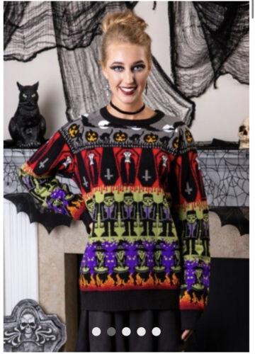 River Island Halloween Monsters Sweater