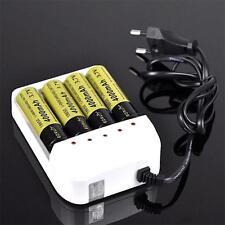 Universal i4 Intelligent Li-ion/NiMH 18650/26650/AA/AAA Battery Charger 4 Output