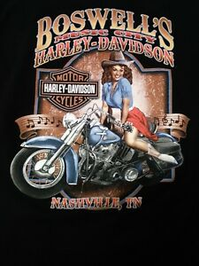 Harley Davidson Nashville >> Details About Boswell S Music City Harley Davidson Nashville Tn Live Now Pay Later Shirt Sz S