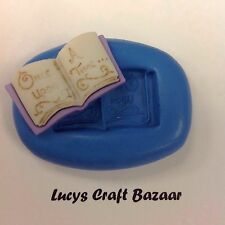 Silicone Mould Once Upon A Time Fairytale Book Sugarcraft Party CupCake Topper