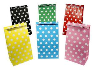 12-polka-dot-sacs-en-papier-choisissez-parmi-6-couleurs-party-cadeau-pois-traiter-sweet