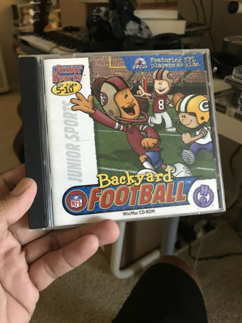 BACKYARD FOOTBALL 1999 +1Clk Windows 10 8 7 Vista XP ...