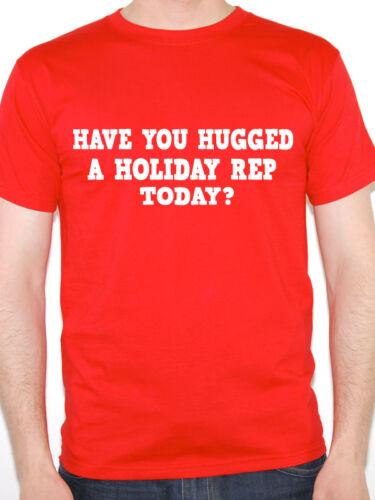 Holiday Rep Gift Fun T-Shirt. Funny Holiday Rep T-Shirt HAVE YOU HUGGED
