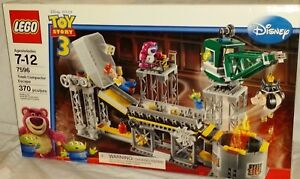 SEALED-7596-LEGO-Toy-Story-Disney-Pixar-TRASH-COMPACTOR-ESCAPE-370pc-RETIRED-set