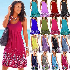 Women-Boho-Floral-Sleeveless-Summer-Tunic-Dress-Casual-Baggy-Sundress-Plus-Size