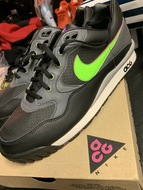 cepillo Inspección Derecho  Nike Air Wildwood ACG Black Electric Green Ao3116 002 Men's Size 7 for sale  online | eBay