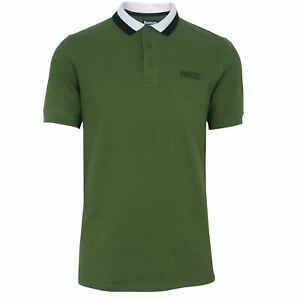 Barbour-international-Homme-Ampere-forte-Olive-Polo-Shirt