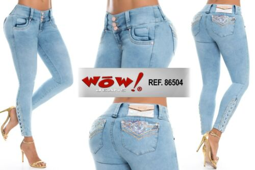 Wow Up Push Cola Lift Colombian Levanta Jeans Colombianos Butt Autentisk UanrWU4q