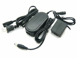 AC Power Adapter DMW-AC8 + DMW-DCC3 DC Coupler For Panasonic DMC-GF1 DMC-GH1 New