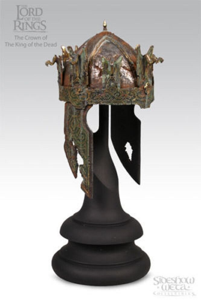 SIDESHOW WETA LORD OF THE RINGS CROWN KING OF OF OF THE DEAD HELMET ORC STATUE FIGURE 554205