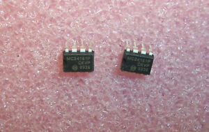 MC34161P ON SEMI 8 PIN DIP UNIVERSAL VOLTAGE MONITOR NOS 1 TUBE QTY 50