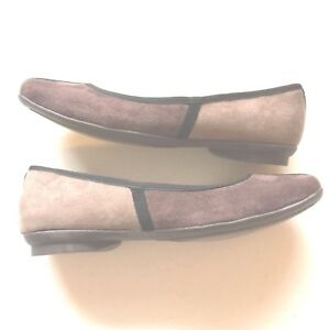 4a2753ffc0f0 Cliffs by White Mountain Women s 7 Suede Brown and Tan Flats Shoes ...