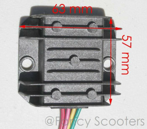 FOR ALL MAJOR BRANDS Regulator /& Rectifier C for 150cc ATV 4 wires