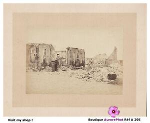 RUINES-DE-PARIS-COMMUNE-DE-PARIS-INSURRECTION-TIRAGE-ALBUMINE-1871-A295