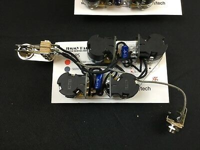Ultimate Les Paul Jimmy Page Wiring Harness kit for Gibson or Epiphone Les Paul