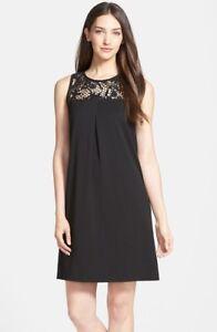 Classiques-Entier-Lace-Yoke-A-Line-Dress-298-sz-2-NWT