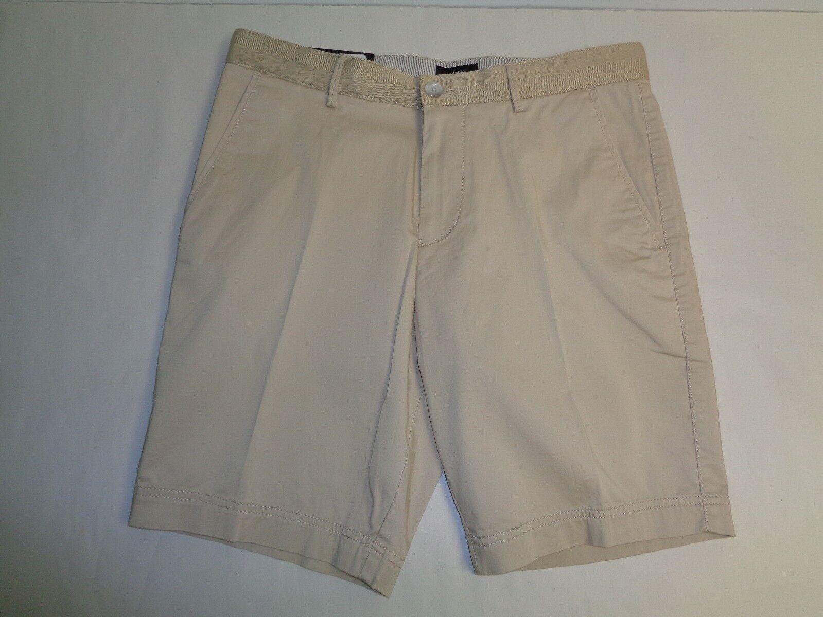 Hugo Boss Size US 30 30R CRIGAN SHORT Beige Regular Fit Shorts New Mens