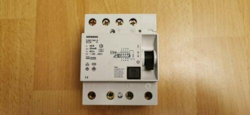 40A Siemens FI-Schutzschalter 5SM1 344-6 niedrige Bauform 0,03A