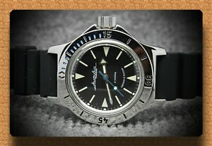 Details about Diver watch 200 m. russian military VOSTOK AUTO AMPHIBIAN # 120512 NEW