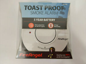 Fireangel Smoke Alarm 5yr Battery