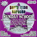 Party Tyme Karaoke: Sunday School by Party Tyme Karaoke (CD, Mar-2006, Sybersound)