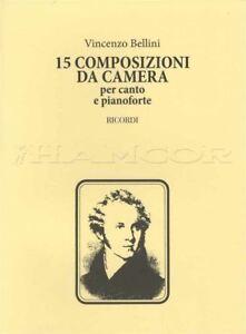 Charitable 15 Composizioni Da Camera Pour Voix Et Piano Music Book Chambre Compositions-afficher Le Titre D'origine Sang Nourrissant Et Esprit RéGulateur