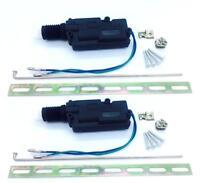 2x Slim Fit Universal Door Lock Actuator 2 Wire Lock Unlock Shallow/ Dla05f