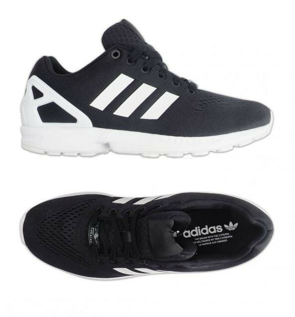 promo code 106f9 e88f7 Adidas Originals ZX FLUX EM Running Shoes (S76499) Trainers Sneakers