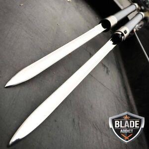 27-034-NINJA-SAMURAI-Dual-Blade-TWIN-SWORDS-Katana-Japanese-Combat-COSPLAY