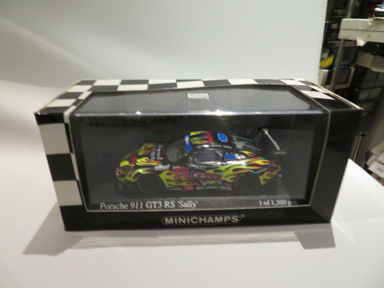 grandi risparmi 1 43 Minichamps Porsche 911 GT3RS Stuttiy GP GP GP Miami (2004) diecast  saldi