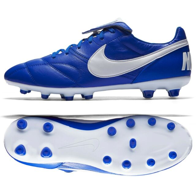 6ace2af9f THE Nike Premier II FG 917803-407 Racer Blue Kangaroo Leather Men Soccer  Cleats
