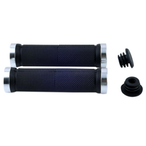 Metal Quality BMX Bike Bicycle Cycling Handle Double Lock On Locking Bar Grips