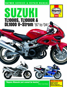 4083 haynes suzuki tl1000s r \u0026 dl1000 v strom (1997 2004) workshopimage is loading 4083 haynes suzuki tl1000s r amp dl1000 v