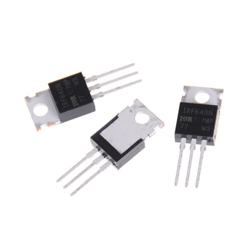 10PCS New IRF640 IRF640N Power mosfet 18A 200V TO-220 Nq