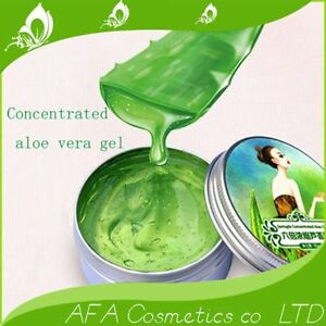 Hot Aloe Vera GEL 100 Pure Natural Organic Skin Care Face Body 6x Concentrated