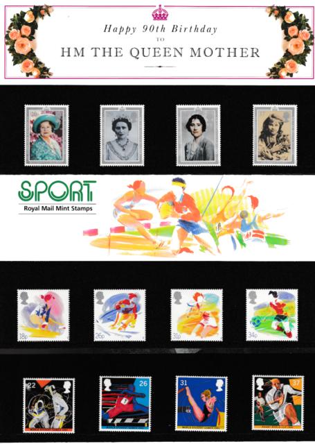 1988 - 1993 años completo paquetes de presentación
