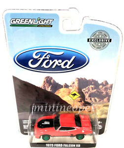 GREENLIGHT-29946-HOBBY-EXCLUSIVE-1973-FORD-FALCON-XB-1-64-RED-PEPPER-Chase