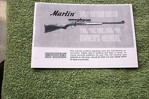 Marlin 101 owners manual wiring library marlin bolt action rifle owners manual models 780 781 782 783 rh ebay com marlin model 101 22 cal antique marlin 22 rifle ccuart Gallery