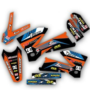 2005 2006 2007 ktm exc 300 400 450 525 graphics kit deco decals moto mx stickers ebay